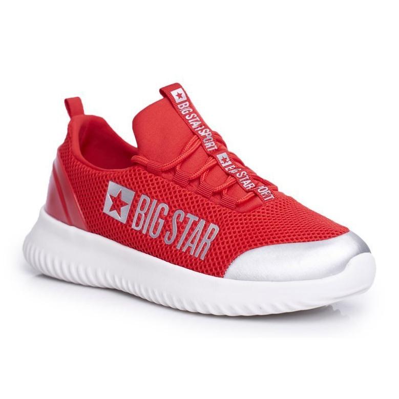 Damskie Sportowe Obuwie Big Star Czerwone FF274A412