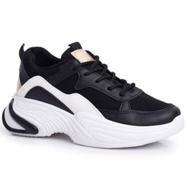 SEA Sportowe Damskie Buty Kolorowe Czarne Pinner białe wielokolorowe