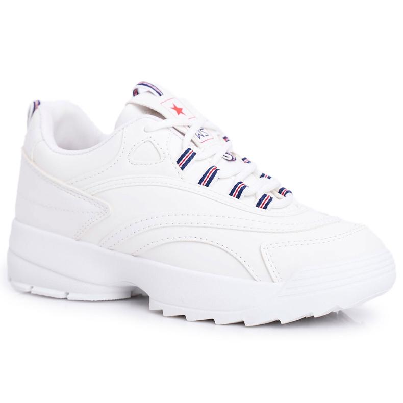 EVE Sportowe Damskie Buty Białe Boston