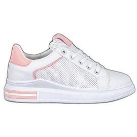 Weide Sneakersy Z Eko Skóry