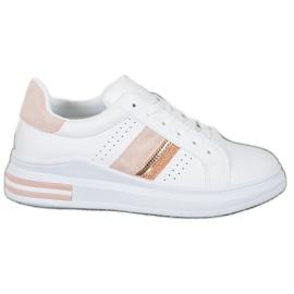 SHELOVET Stylowe Sneakersy białe