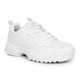 Damskie Sportowe Obuwie Sneakersy Big Star Białe FF274681