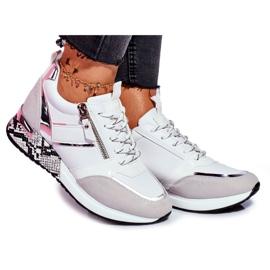 Sportowe Damskie Buty Białe Figure
