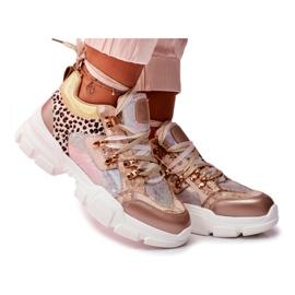 Moow Sportowe Damskie Buty Sneakersy Totally Crazy