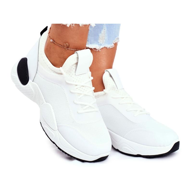BUGO Sportowe Damskie Buty Czarno Białe Fellen czarne