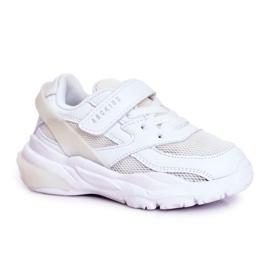 Sportowe Buty Dziecięce Białe Abckids B933204077