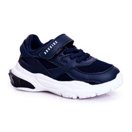 Sportowe Buty Dziecięce Granatowe Abckids B933204077