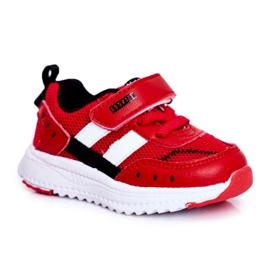 ABCKIDS POLAND Sp. z o.o. Sportowe Buty Dziecięce Czerwone Abckids B933104083
