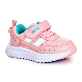 ABCKIDS POLAND Sp. z o.o. Sportowe Buty Dziecięce Różowe Abckids B933104083