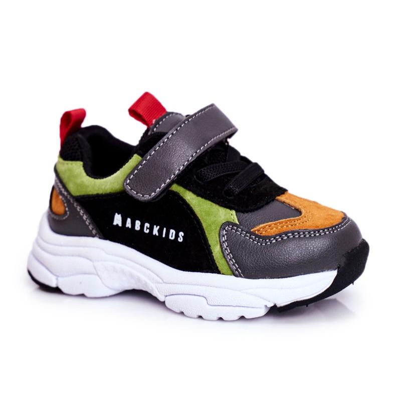 ABCKIDS POLAND Sp. z o.o. Sportowe Buty Dziecięce Czarne Abckids B932104063