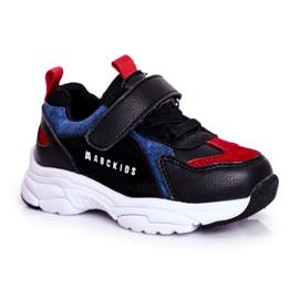 ABCKIDS POLAND Sp. z o.o. Sportowe Buty Dziecięce Czarno Granatowe Abckids B932104063 czarne