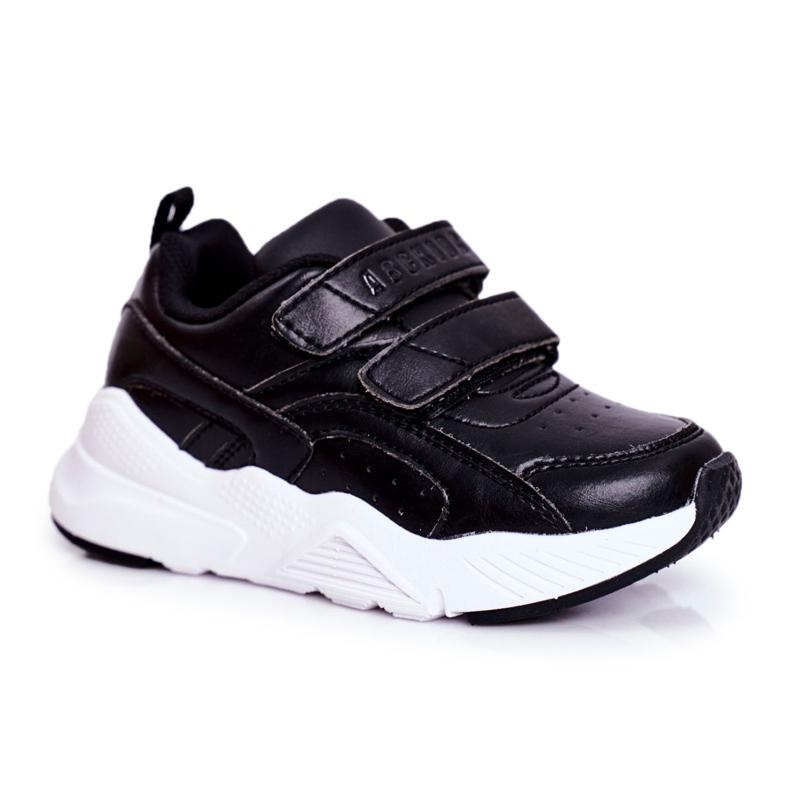 ABCKIDS POLAND Sp. z o.o. Sportowe Buty Dziecięce Młodzieżowe Czarne Abckids B013310212