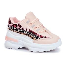 FRROCK Sportowe Buty Dziecięce Różowe Dante