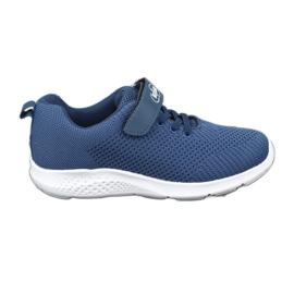 Befado obuwie dziecięce 516y047 niebieskie