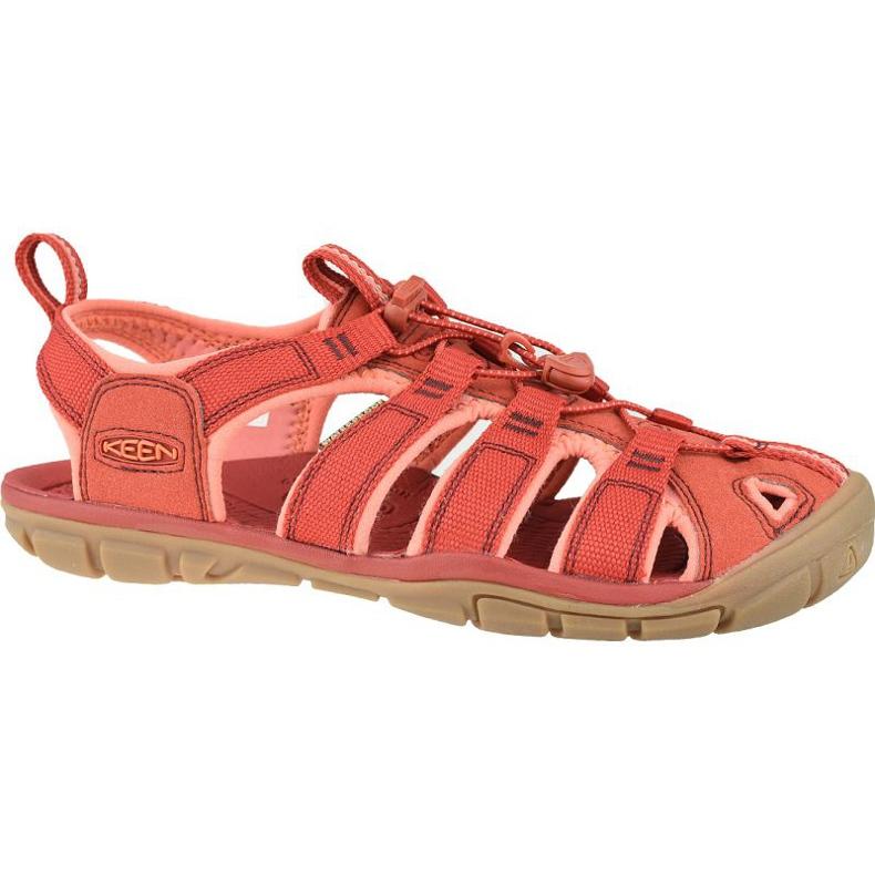 Sandały Keen Wm's Clearwater Cnx W 1022963 czerwone