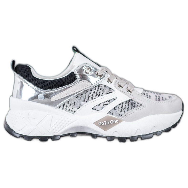 Buty Sportowe MCKEYLOR białe szare