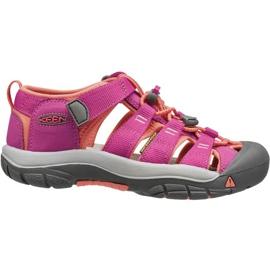 Sandały Keen Newport H2 Jr 1014267 różowe