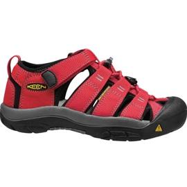 Sandały Keen Newport H2 Jr 1012300 czerwone