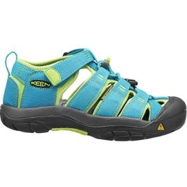 Sandały Keen Newport H2 Jr 1012314 niebieskie