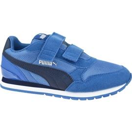 Buty Puma St Runner V2 Mesh Ps Jr 367136 07 niebieskie
