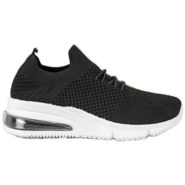 Sweet Shoes Tekstylne Buty Sportowe czarne