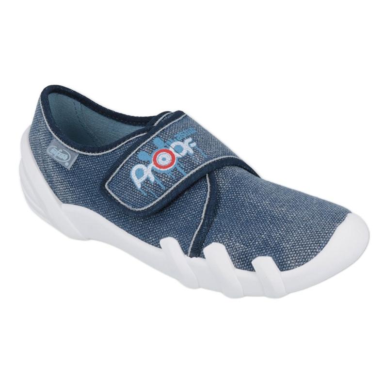Befado obuwie dziecięce 273Y270 niebieskie