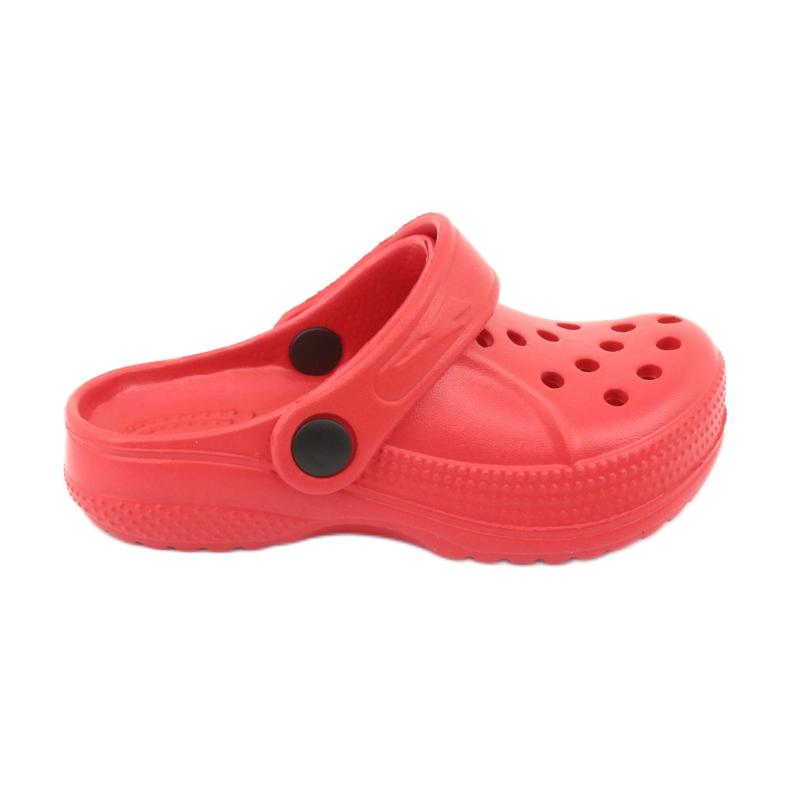 Befado Crocs obuwie dziecięce czerwony 159X005 czerwone