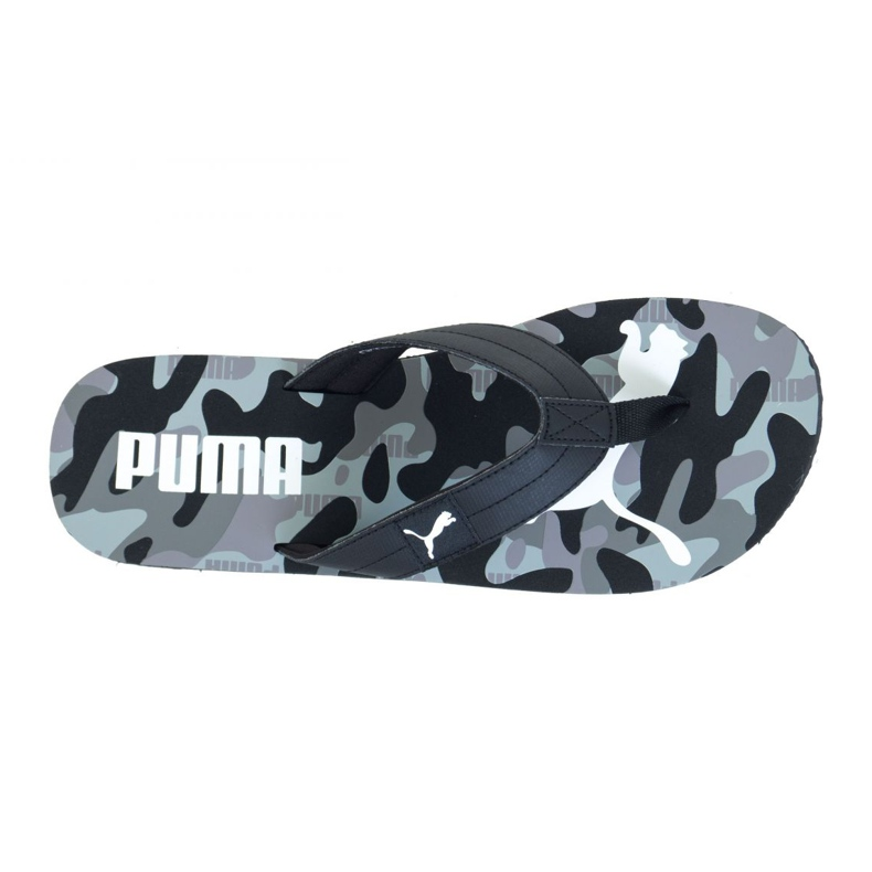 Japonki Puma Cozy Flip Rebel Camo M 37228302 czarne