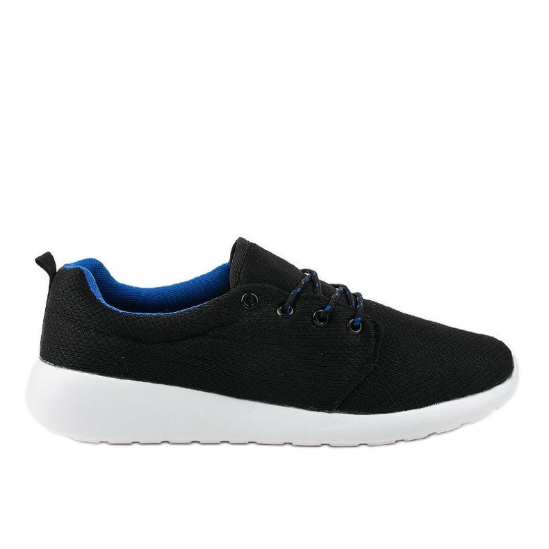 Czarne męskie obuwie sportowe YFM-71A
