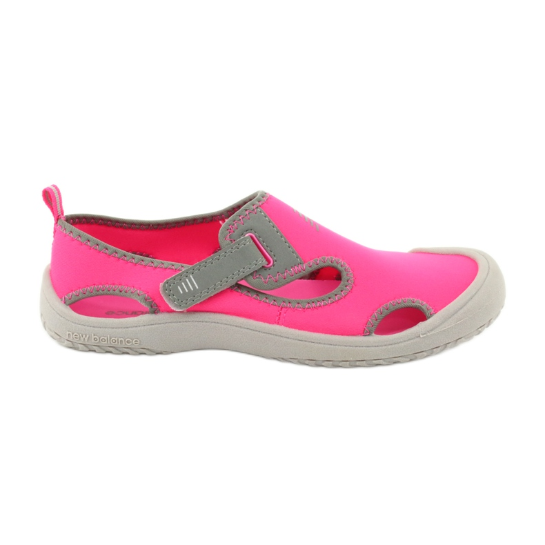 Sandały New Balance Sandal K K2013PKG czarne czerwone różowe szare