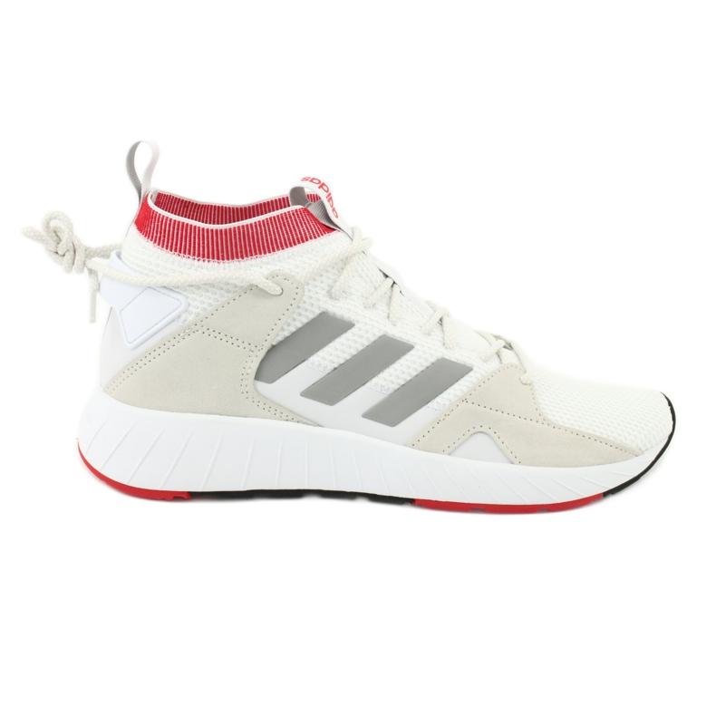 Buty adidas Questarstrike Mid M G25775 białe czerwone szare