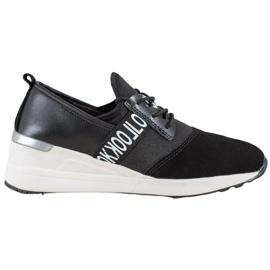 Skórzane Sneakersy Look VINCEZA czarne