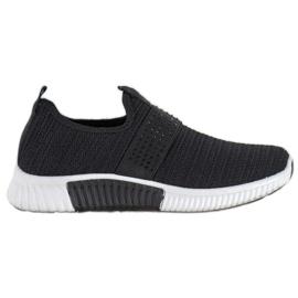 SHELOVET Wsuwane Buty Sportowe czarne