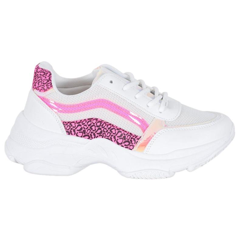 Marquiz Sneakersy Z Neonowymi Wstawkami