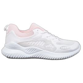 SHELOVET Sneakersy Z Siateczką białe