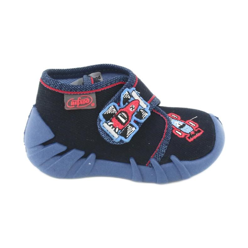 Befado obuwie dziecięce 523P011 granatowe