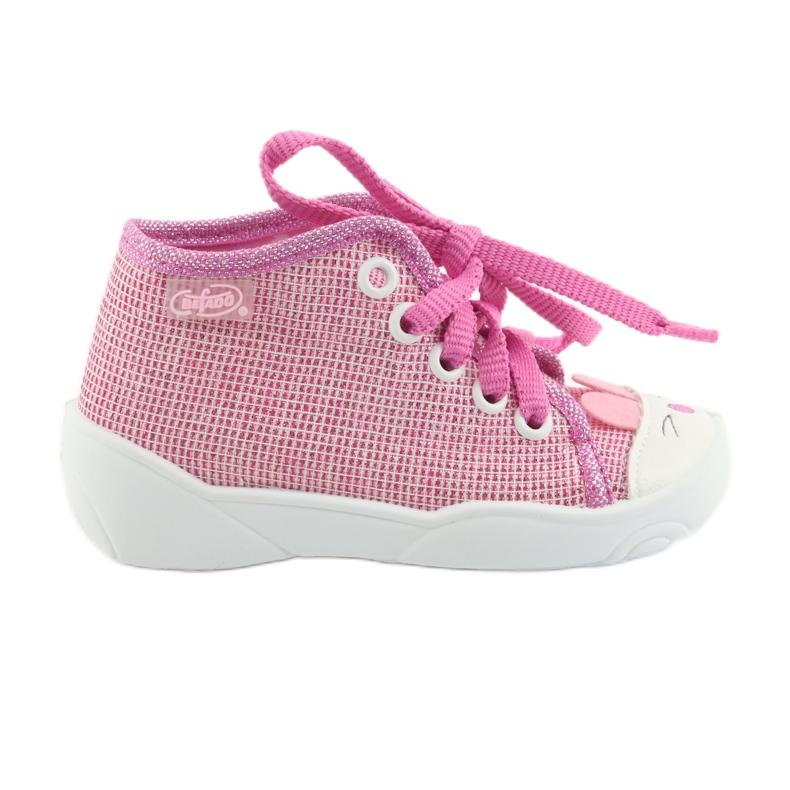 Befado obuwie dziecięce 218P060 różowe