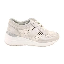 Jezzi Wygodne buty sportowe na koturnie 20PB08-1641 wielokolorowe