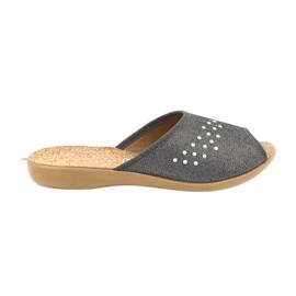 Befado obuwie damskie pu 254D106 szare