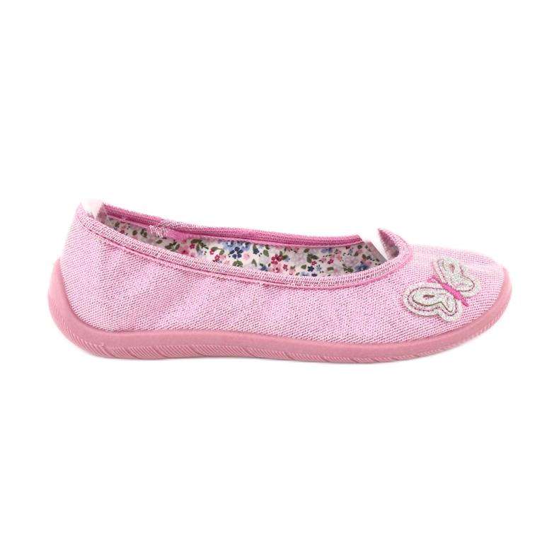 Befado obuwie dziecięce  980X098 różowe