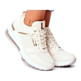 ADY Damskie Sneakersy Sportowe Beżowe Sparks beżowy