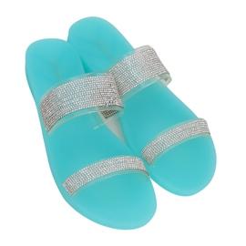 Klapki silikonowe niebieskie BG51 Blue