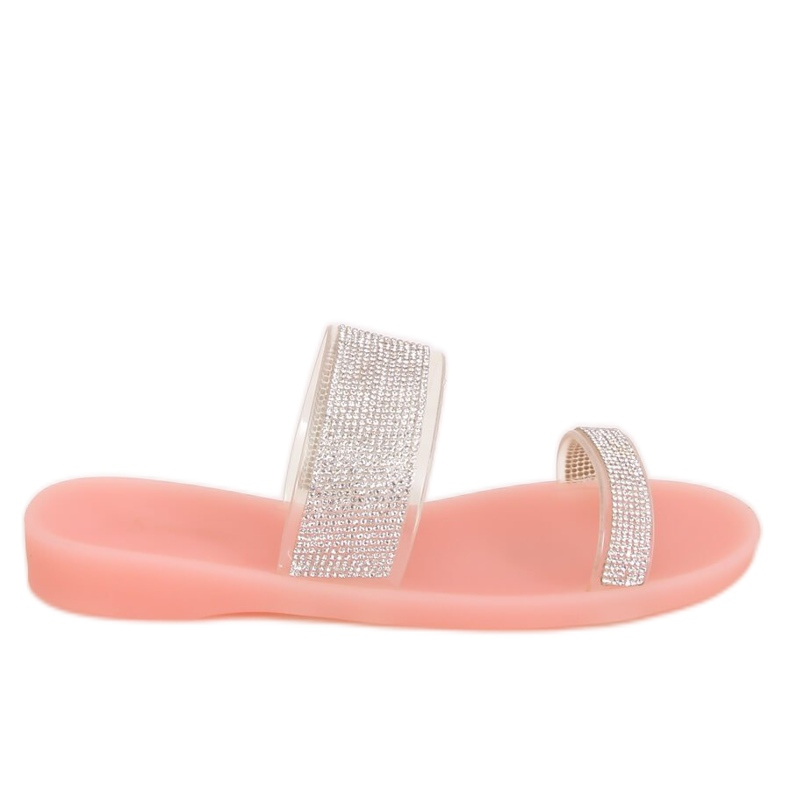 Klapki silikonowe różowe BG51 Pink
