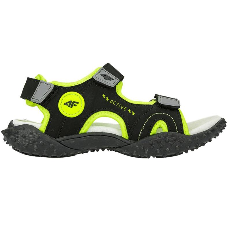 Sandały 4F Jr HJL20 JSAM001 21S czarne