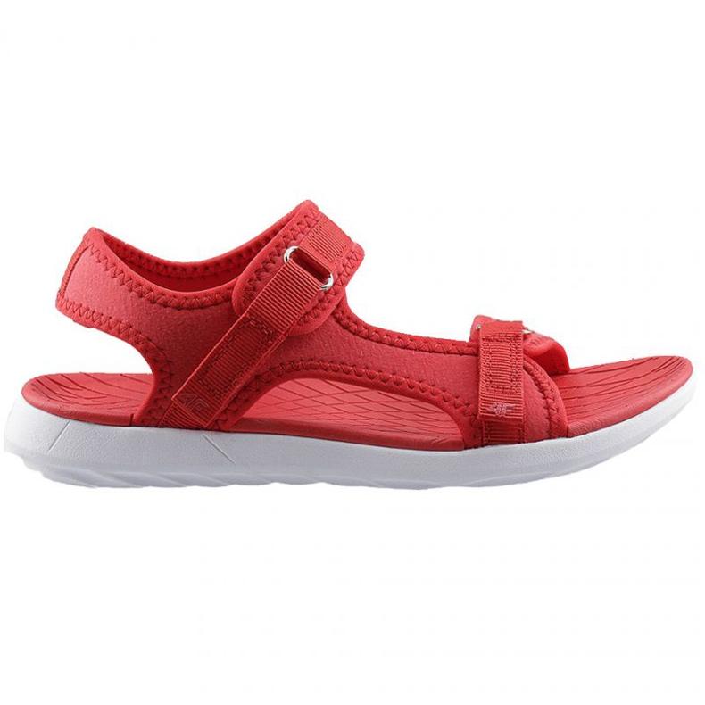 Sandały 4F W H4L20 SAD001 62S czerwone
