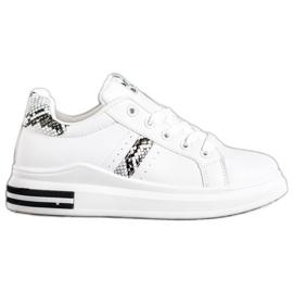 Sweet Shoes Białe Sneakersy