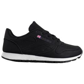 Camo Klasyczne Czarne Buty Sportowe