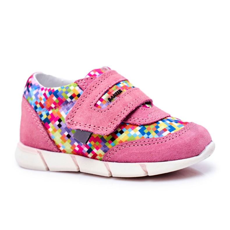 Bartek S.A. Dziecięce Półbuty Dla Dziewcząt Różowe Bartek T-71949/S19