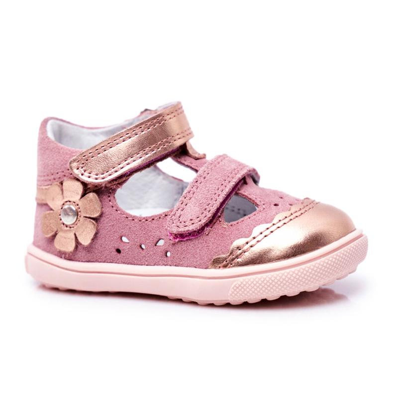 Bartek S.A. Dziecięce Sandałki Dla Dziewcząt Profilaktyczne Bartek T-81798-7/91P różowe
