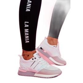 Sportowe Damskie Buty Białe Himme